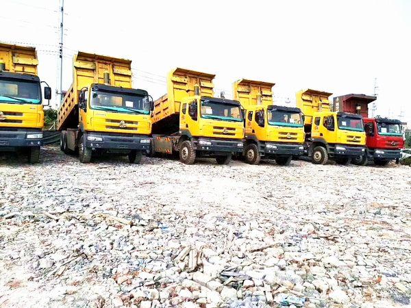 多台柳汽霸龙自卸车,336bob客户端,北奔桥5.8到6.2米。国四