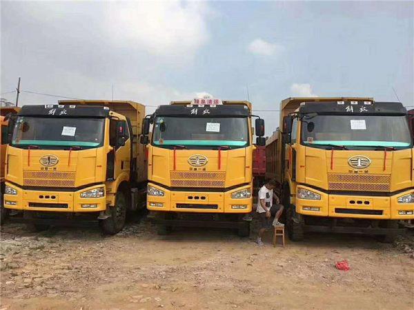 国五解放、三台高配解放J6,350bob客户端,5.8货箱,1.5的公告,23吨加强大桥