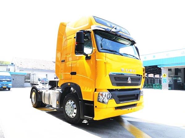 中国重汽 HOWO T7H重卡 480bob客户端 4X2牵引车(快递车)(ZZ4187N361HD1B)